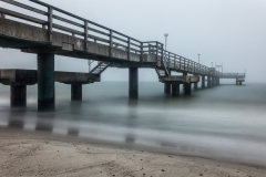 Seebrücke früh am Morgen